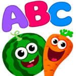 Funny Food! learn ABC games for toddlers&babies for pc icon