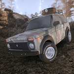 Forest Roads. Niva for pc icon