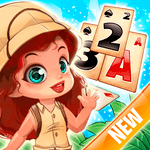 Solitaire Tripeaks - Lost Worlds Adventure for pc icon