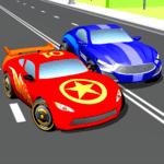 Super Kids Car Racing In Traffic for pc icon