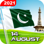 Pakistan Flag Live Wallpaper: 14 August Wallpaper for pc icon