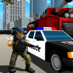 Grand Gangster City: Pixel 3D Gun Crime Game for pc icon