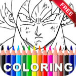 Dragon Ball Coloring Book Free for pc icon