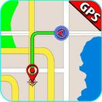 GPS Navigation, Road Maps, GPS Route tracker App for pc icon