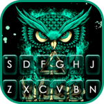 Angry Owl Art Keyboard Theme for pc icon
