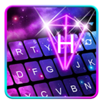 Galaxy 3d Hologram Keyboard Theme for pc icon