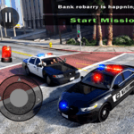 Police Car Driving in City for pc icon