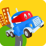 Car City World: Little Kids Play Watch TV & Learn for pc icon