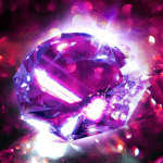Diamond Wallpaper for Girls & Keyboard Background for pc icon