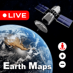Live Earth Map 2021 : Satellite View, 3D World Map for pc icon