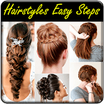Hairstyles Step By Step for pc icon