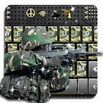 Camo Army Keyboard for pc icon