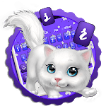 Cute Fluffy Cat Keyboard for pc icon