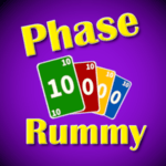 Super Phase Rummy card game for pc icon